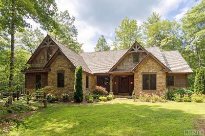 Cashiers Single Family Home For Sale: 194 Streamside Drive