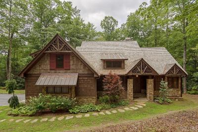 Cashiers Single Family Home For Sale: 175 Fly Fishing Lane