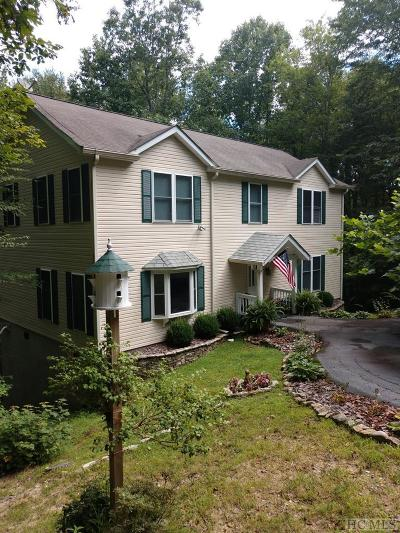 Sapphire Single Family Home For Sale: 575 Holly Road
