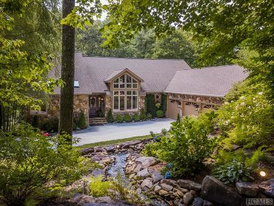 Sapphire Single Family Home For Sale: 213 River Overlook Road
