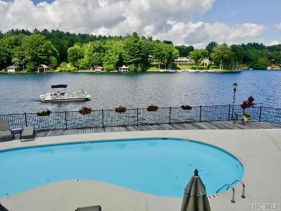 Lake Toxaway Condo/Townhouse For Sale: 52 Country Club Village Drive #6