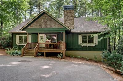 Sapphire Single Family Home For Sale: 470 Scotch Highlands Loop