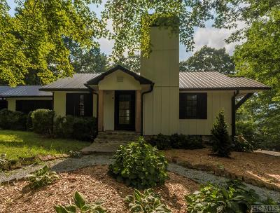 Cashiers Single Family Home For Sale: 336 Hwy 107n
