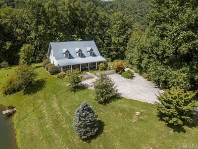 Scaly Mountain Single Family Home For Sale: 26 Hidden Falls Trail