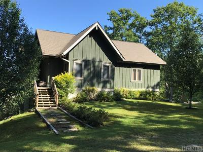 Lake Toxaway Single Family Home For Sale: 278 Spring House Road