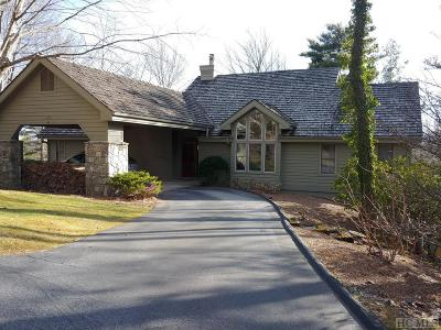 Lake Toxaway Single Family Home For Sale: 258 Club Colony Lane