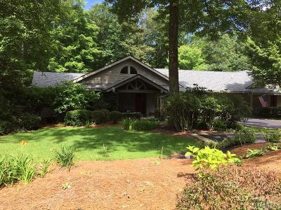Wildcat Cliffs Cc Single Family Home For Sale: 19 Whiteside Mountain Road
