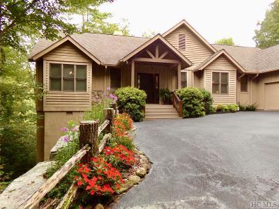 Sapphire Single Family Home For Sale: 49 Hidden Lane