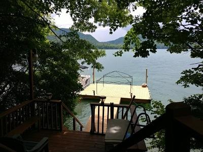 Topton Single Family Home For Sale: 754 Lakeshore Drive