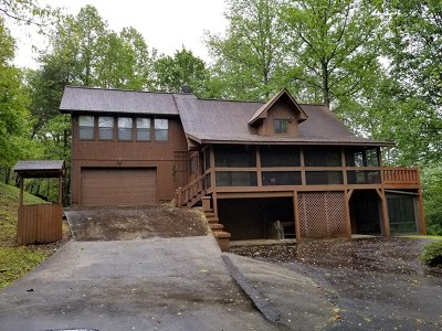 Warne Single Family Home For Sale: 114 Lost Indian Trail