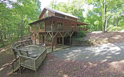 Hayesville Single Family Home For Sale: 3147 Old Highway 64 West