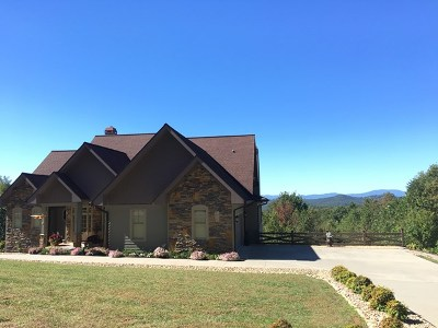 Murphy NC Single Family Home For Sale: $599,000