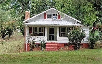 Hayesville Single Family Home For Sale: 6275 State Highway 64