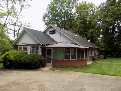 Murphy Single Family Home For Sale: 160 Hill Street