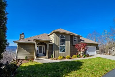 Hayesville Single Family Home For Sale: 184 Eagles View Circle
