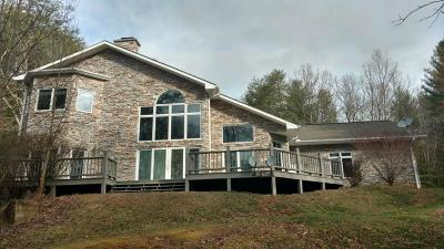 Andrews, Brasstown, Culberson, Hayesville, Marble, Murphy, Robbinsville, Topton Single Family Home For Sale: 5981 Candy Mountain Road