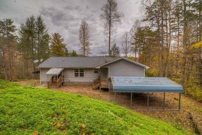 Murphy Single Family Home For Sale: 375 Rough Gravel Road