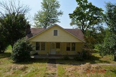 Murphy NC Single Family Home For Sale: $80,000