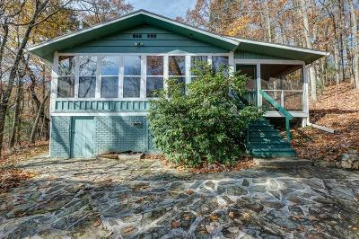 Murphy Single Family Home For Sale: 1459 Hideaway Mountain Road