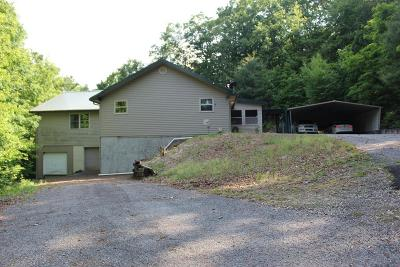 Blairsville Single Family Home For Sale: 465 Pine Ridge Acres