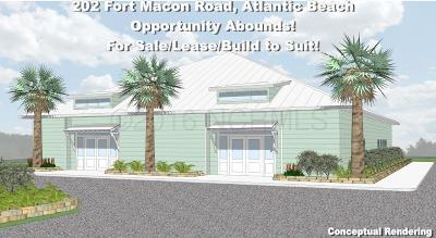 Atlantic Beach Commercial For Sale: 202 E Fort Macon Road