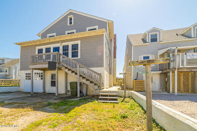 Atlantic Beach Single Family Home For Sale: 316 E Boardwalk Boulevard