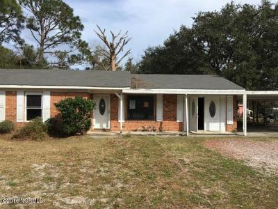Southport Single Family Home Sold: 4790 Oakview Drive