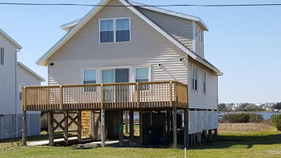 North Topsail Beach, Surf City, Topsail Beach Single Family Home For Sale: 1753 New River Inlet Road