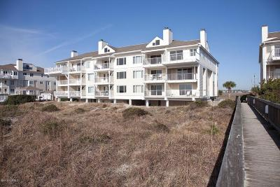 Wrightsville Beach Condo/Townhouse For Sale: 2512 N Lumina Avenue #1-C