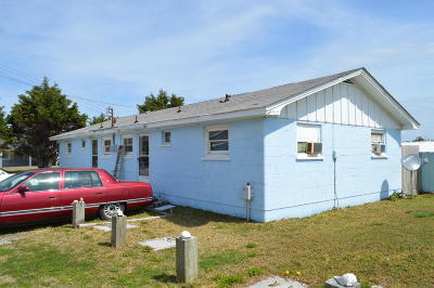 Atlantic Beach Single Family Home For Sale: 100 Bogue Sound Drive E