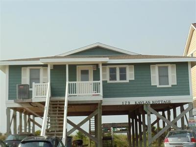 Holden Beach Single Family Home For Sale: 179 Ocean Boulevard W