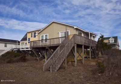 Oak Island Single Family Home For Sale: 2927 E Beach Drive