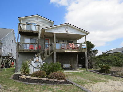 Oak Island Single Family Home For Sale: 612 E Beach Drive