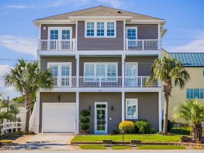 Atlantic Beach Single Family Home For Sale: 247 Moonlight Drive