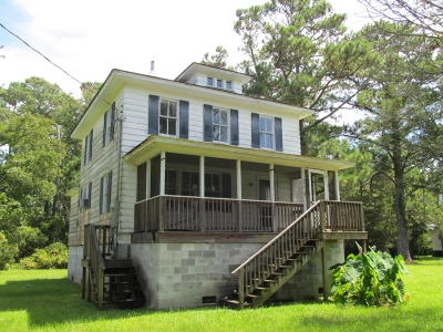 Sea Level Single Family Home For Sale: 399 Nelson Neck Road