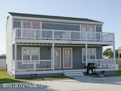 Atlantic Beach Multi Family Home For Sale: 115 Center Drive