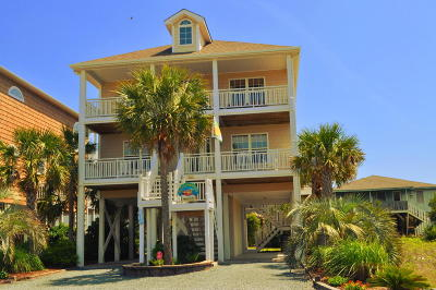 Ocean Isle Beach Single Family Home For Sale: 326 E Second Street