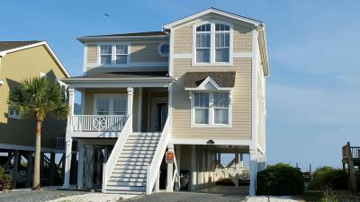 Holden Beach Single Family Home For Sale: 251 Ocean Boulevard W
