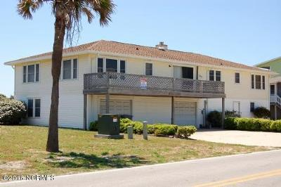Holden Beach Single Family Home For Sale: 933 Ocean Boulevard W
