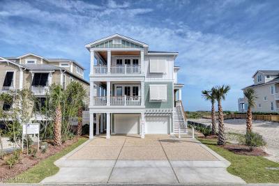 Wrightsville Beach Single Family Home For Sale: 215 S Lumina Avenue #A
