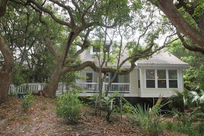 Bald Head Island Single Family Home For Sale: 3 Palm Court
