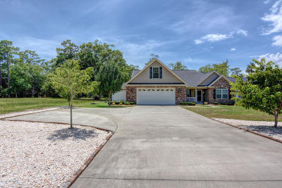 Calabash Single Family Home Sold: 1674 Beach Drive SW