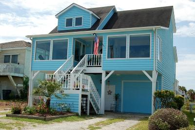 Holden Beach Single Family Home For Sale: 147 High Point Street