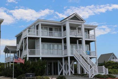 Holden Beach Single Family Home For Sale: 344 Ocean Boulevard W
