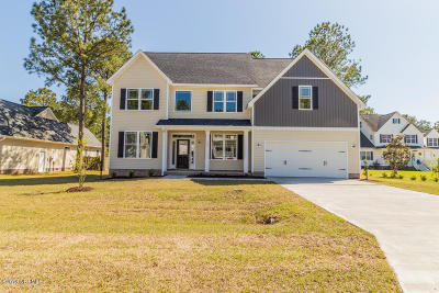 Sneads Ferry Single Family Home For Sale: 109 Creeks Edge Drive