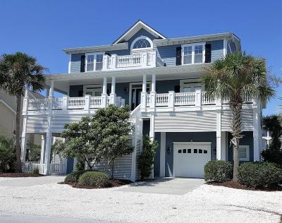 Ocean Isle Beach Single Family Home For Sale: 43 Cumberland Street