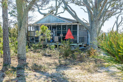 Harkers Island Single Family Home For Sale: Bachelor Island