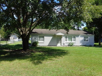 Grifton Single Family Home For Sale: 609 Dawson Road