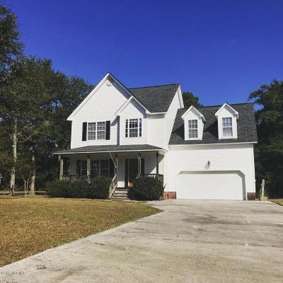 Sneads Ferry Single Family Home For Sale: 1430 Chadwick Shores Drive