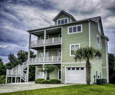 Indian Beach Single Family Home For Sale: 113 Kiawa Way